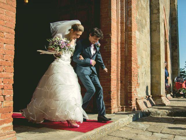 le nozze di Francesca e Mauro