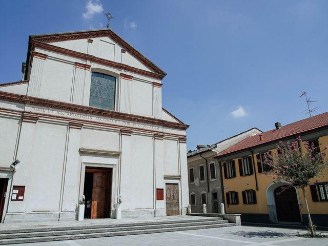 Il matrimonio di Sabrina e Cristian a Malnate, Varese 14