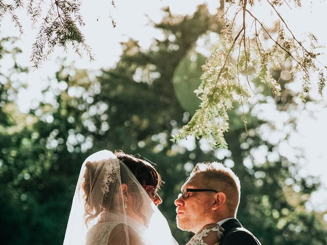 Il matrimonio di Sabrina e Cristian a Malnate, Varese 33