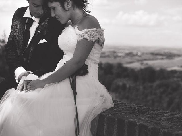 le nozze di Giulia e Cristiano