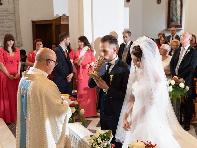 Il matrimonio di Federico e Priscilla a Santa Marinella, Roma 93