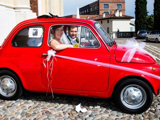 Il matrimonio di Mirko e Elisa a Castiglione delle Stiviere, Mantova 53