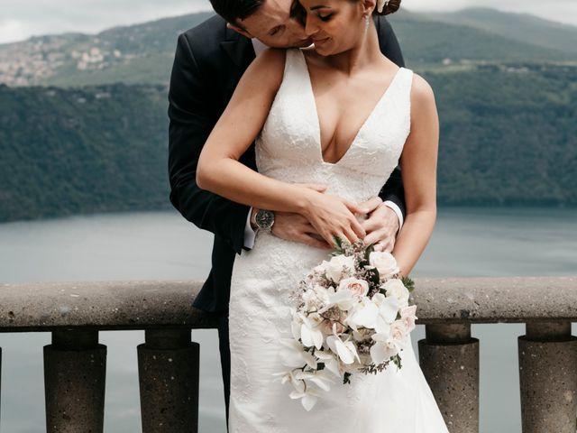le nozze di Yasmina e Francesco