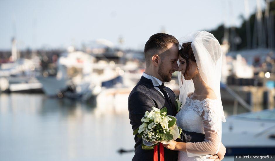 Il matrimonio di Federico e Priscilla a Santa Marinella, Roma
