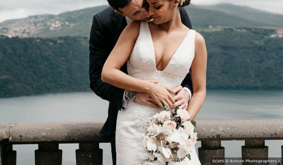 Il matrimonio di Francesco e Yasmina a Castel Gandolfo, Roma