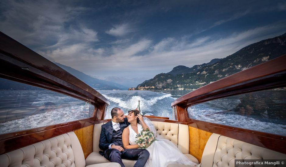 Il matrimonio di Vincenzo e Valentina a Oliveto Lario, Lecco