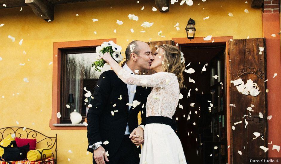 Il matrimonio di Riccardo e Elena a Buriasco, Torino