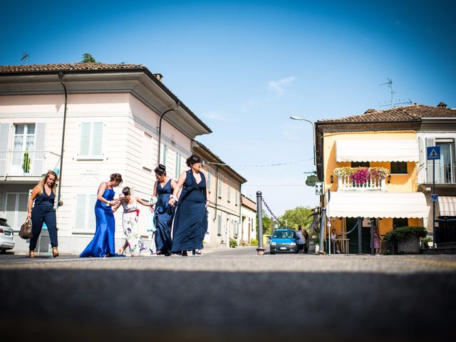Il matrimonio di Fabrizio e Giulia a Torrazza Coste, Pavia 7