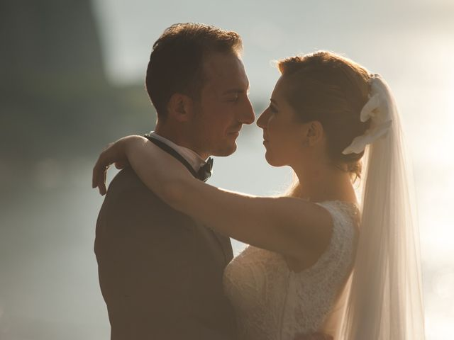 le nozze di Nicola e Linda