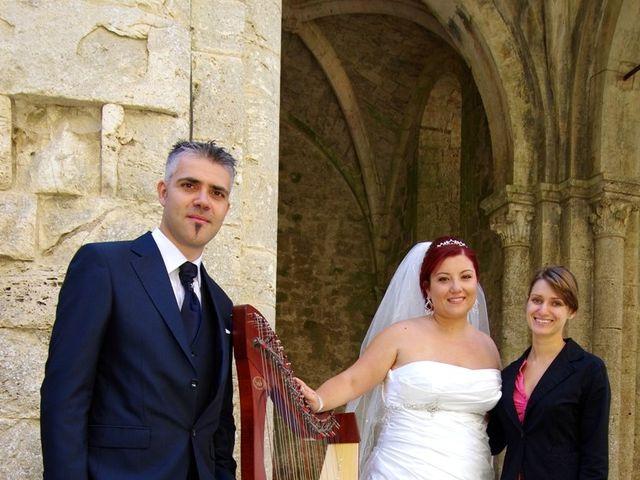 Il matrimonio di Nicola e Giada a Chiusdino, Siena 3