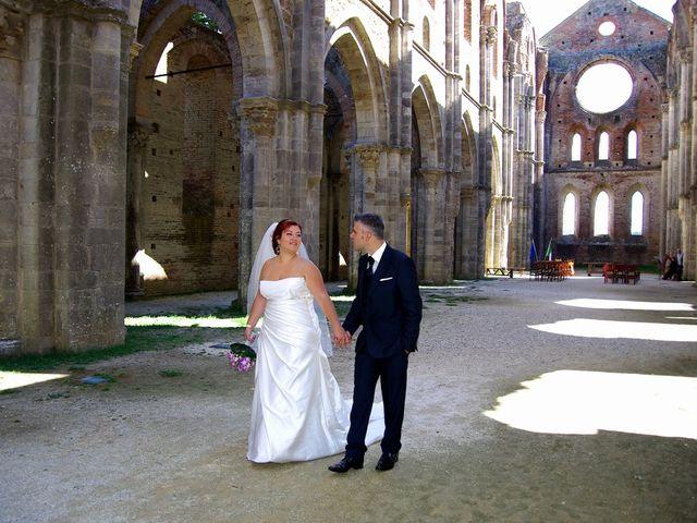 le nozze di Giada e Nicola