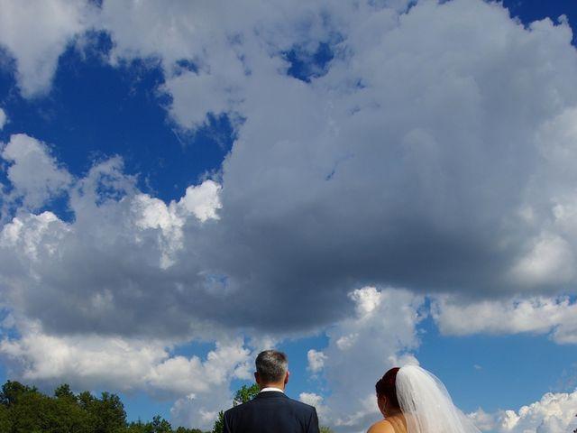 Il matrimonio di Nicola e Giada a Chiusdino, Siena 4