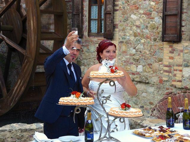 Il matrimonio di Nicola e Giada a Chiusdino, Siena 7