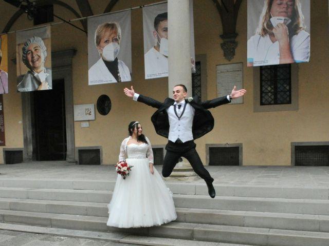 Il matrimonio di Mishael  e Milena  a Pistoia, Pistoia 4