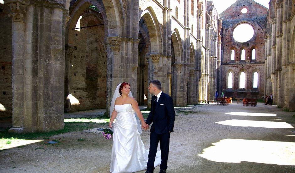 Il matrimonio di Nicola e Giada a Chiusdino, Siena