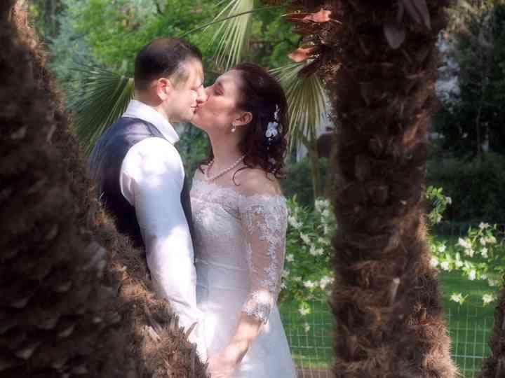 le nozze di Silvia e Sergio