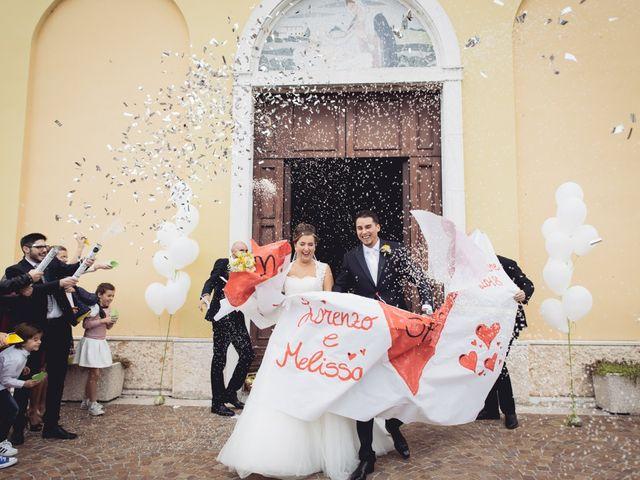 Il matrimonio di Lorenzo e Melissa a Nogarole Rocca, Verona 38