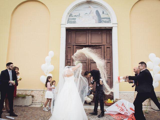 Il matrimonio di Lorenzo e Melissa a Nogarole Rocca, Verona 41