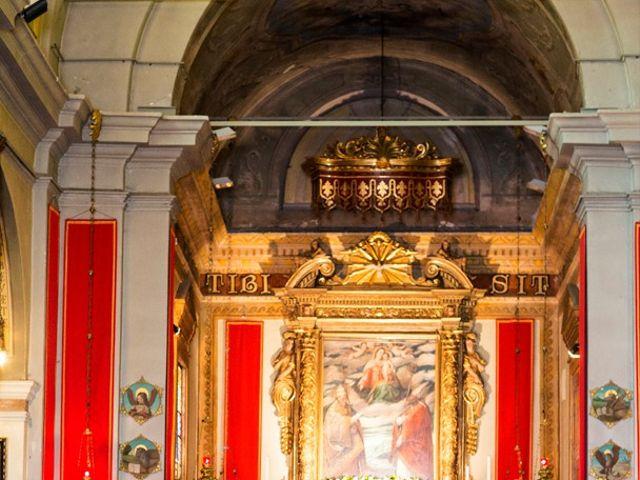 Il matrimonio di Nicola e Stefania a Concesio, Brescia 22