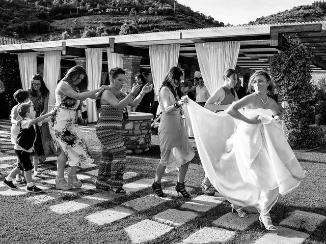 Il matrimonio di Nicola e Stefania a Concesio, Brescia 59