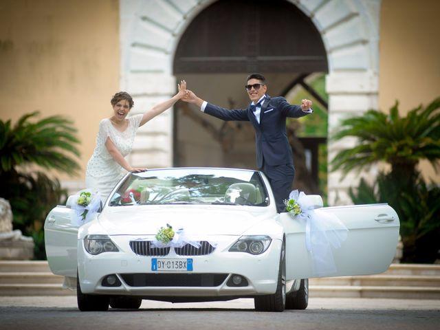 le nozze di Vanessa e Mauro