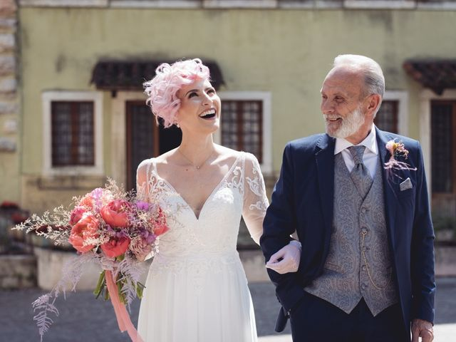 Il matrimonio di Andrea e Athena a Lazise, Verona 37