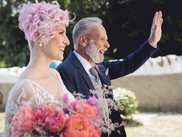 Il matrimonio di Andrea e Athena a Lazise, Verona 40