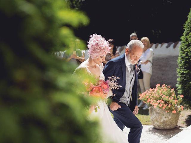 Il matrimonio di Andrea e Athena a Lazise, Verona 43