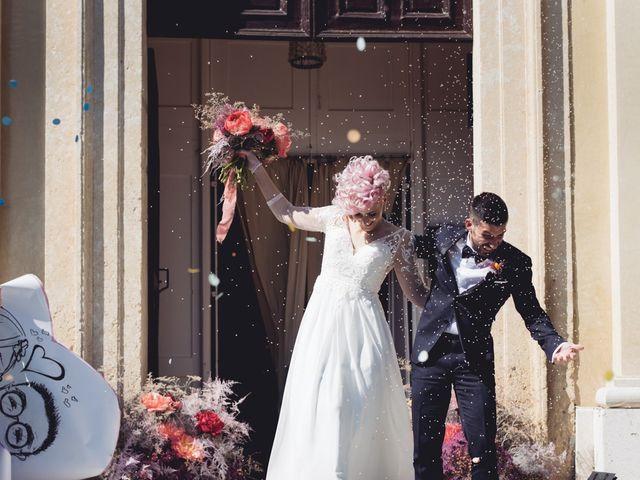 Il matrimonio di Andrea e Athena a Lazise, Verona 59