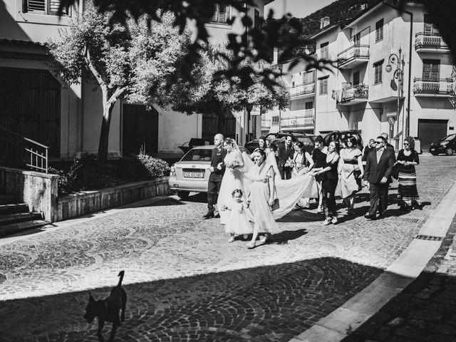 Il matrimonio di Dante e Potenza a Villanova del Battista, Avellino 57
