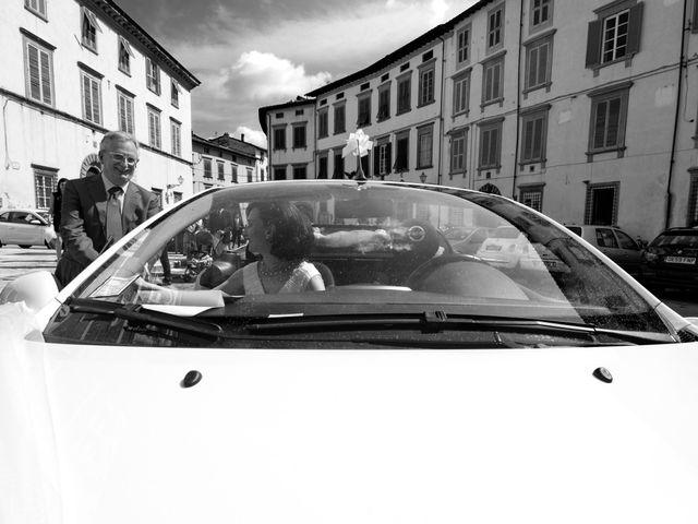 Il matrimonio di Matteo e Paola a Lucca, Lucca 17