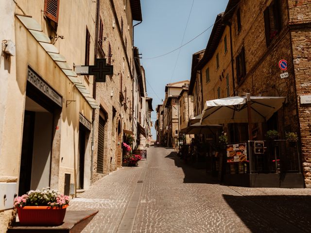 Il matrimonio di Giorgio e Giulia a Montefalco, Perugia 2