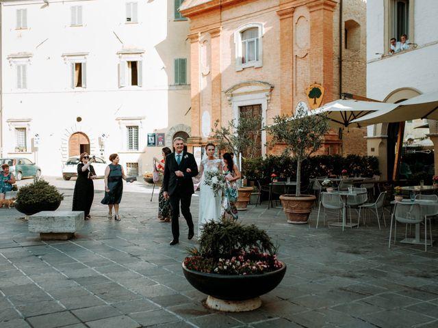 Il matrimonio di Giorgio e Giulia a Montefalco, Perugia 28