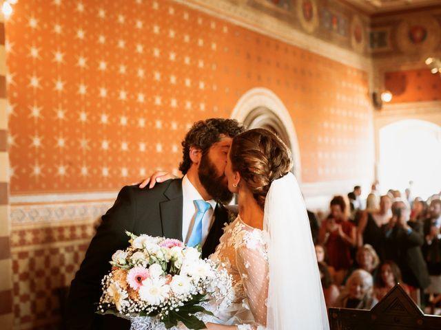 Il matrimonio di Giorgio e Giulia a Montefalco, Perugia 35