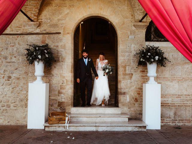 Il matrimonio di Giorgio e Giulia a Montefalco, Perugia 36