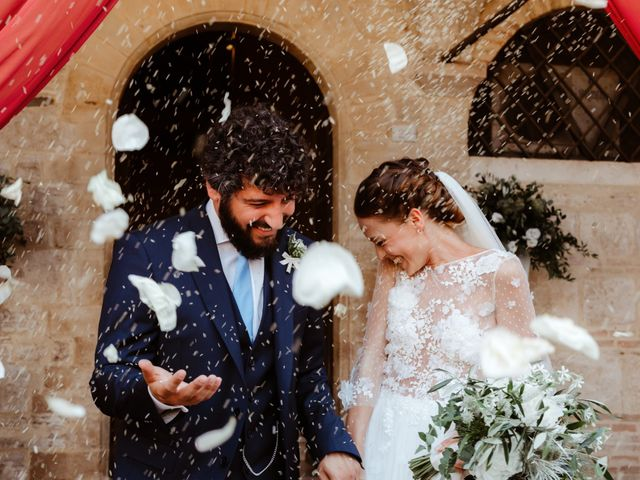 Il matrimonio di Giorgio e Giulia a Montefalco, Perugia 37