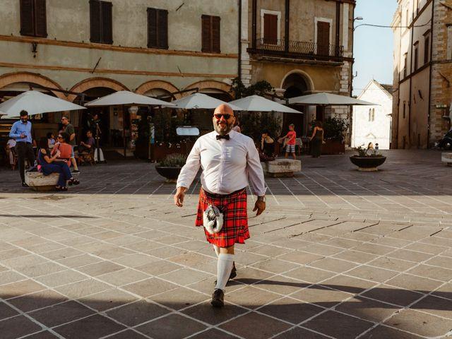 Il matrimonio di Giorgio e Giulia a Montefalco, Perugia 38