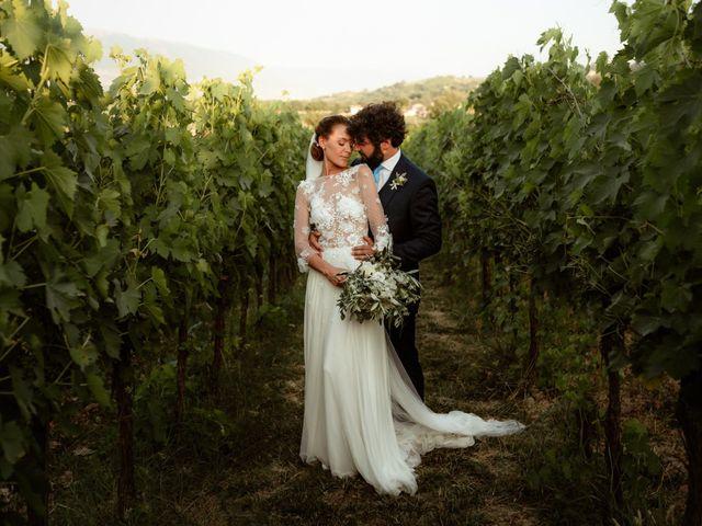 Il matrimonio di Giorgio e Giulia a Montefalco, Perugia 43
