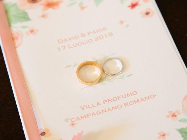 Il matrimonio di David e Paige a Roma, Roma 11