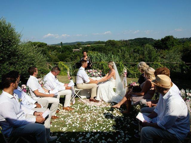Il matrimonio di David e Paige a Roma, Roma 1