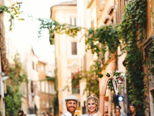 Il matrimonio di David e Paige a Roma, Roma 47