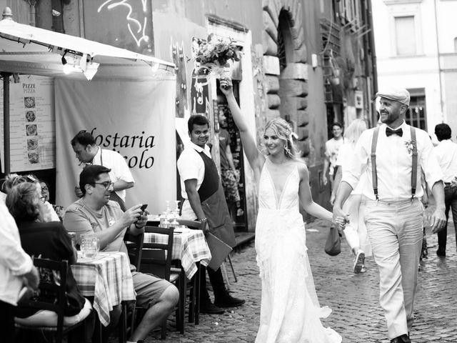 Il matrimonio di David e Paige a Roma, Roma 56