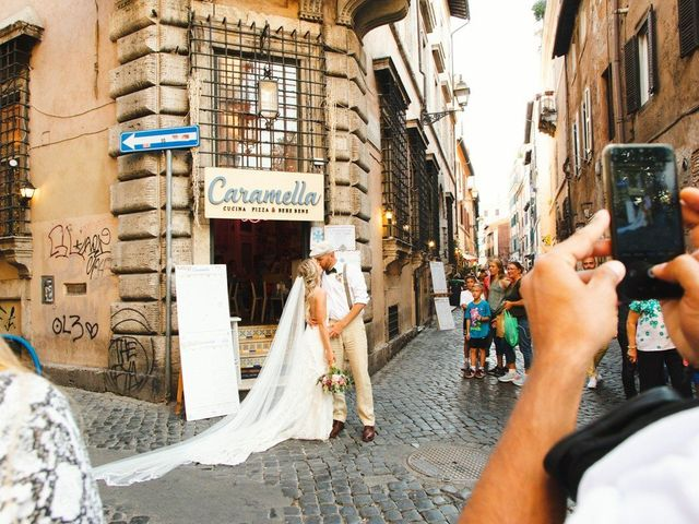 Il matrimonio di David e Paige a Roma, Roma 55