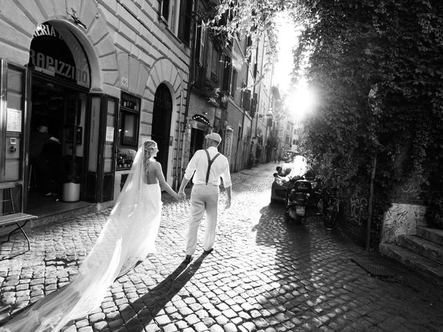 Il matrimonio di David e Paige a Roma, Roma 52