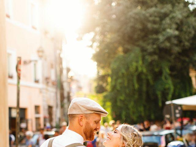 Il matrimonio di David e Paige a Roma, Roma 58
