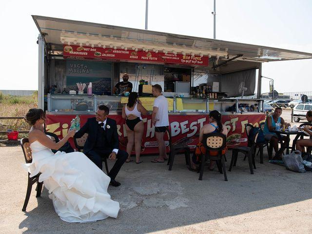Il matrimonio di Fabrizio e Annarita a Vasto, Chieti 54