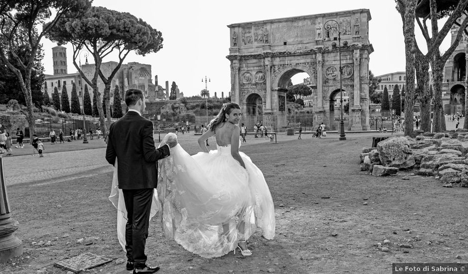 Il matrimonio di Valerio e Alessia a Rocca di Papa, Roma