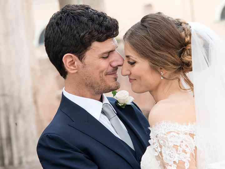 le nozze di Luciana e Patrizio