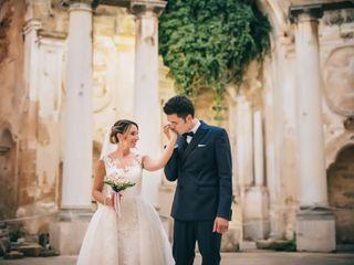 Le nozze di Sergio e Melania