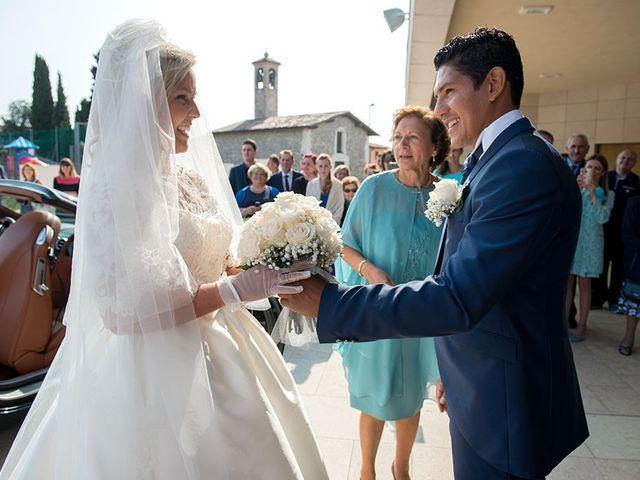 Il matrimonio di Claudio e Martina a Grassobbio, Bergamo 16